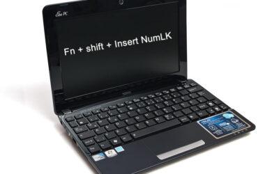 Asus EEE PC seashell series – Teclado não funciona (Resolvido!)