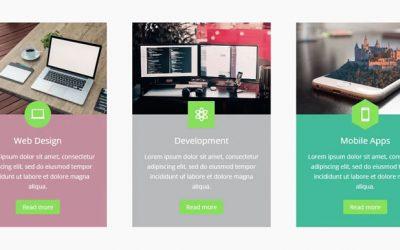 Divi Blurb – 5 designs de módulo Creative