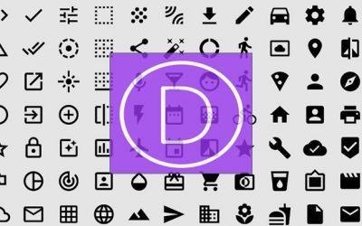 Ver ícones disponíveis no tema Divi  – 360 no total